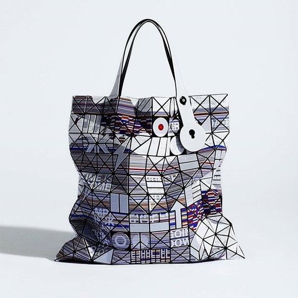 Issey Miyake Handbags - RARE 💎 Bao Bao Issey Miyake CHORD Collection Tote e09fb2f6ff